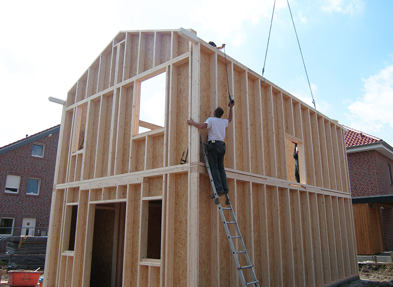 Holzrahmenbau  Individuell und effizient :: Menert Holz- u. Planungstechnik